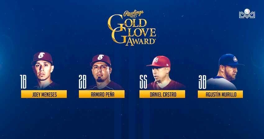 Los infielders que ganaron el Guante de Oro.